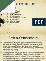 Ppt Osteoartritis Fix