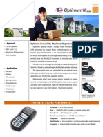 Hypercom M4230 Fact Sheet