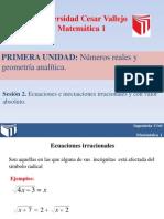 PPT Ecuaciones e inecuaciones irracionales y con valor absoluto.pptx