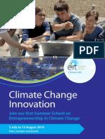 Flyer Climate Change Innovation