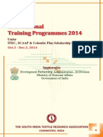SITRA_Training Prog 2014_under ITEC_SCAAP_TCS.pdf