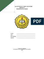 Pratikum 1. Pharcare Terminologi Medis