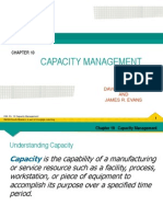 OM Chapter 10 Capacity Management