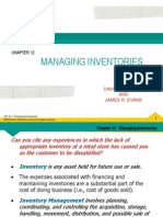 OM Chapter 12  Managing Inventories