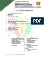 Dress Code & Barang Bawaan PRABU (18-19 Agustus)