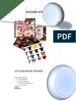 Kelompok 2 - Tugas II Kewirausahaan - 10 Gagasan Usaha (2)