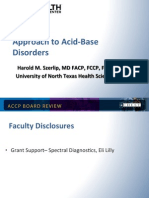 Acid-Base Disorder/CCM Board review
