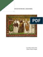 Fuentes Historia Medieval-2014.pdf
