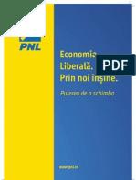 Brosura Programul Economia Liberala