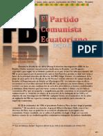 EL Partido Comunista Ecuatoriano