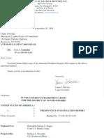 PreSentencing Investigation Report 090917