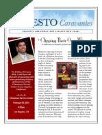 Ernesto Caravantes Winter 2009 Newsletter