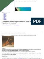 """Las hormigas tienen gran impacto sobre el Medio Ambiente como """"ingenieros del ecosistema"""" _ AstroMarca-Ciencia y Tecnología.pdf"""