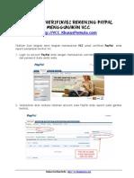 Panduan Verifikasi Rekening Paypal Pakai VCC