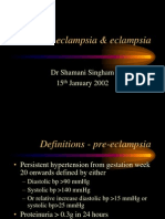 Pre Eclampsia Eclampsia[1]