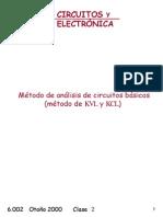 Método Básico de Análisis de Circuito (Método LTK y LCK)