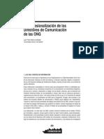 La profesionalización de los dircom de las ONG