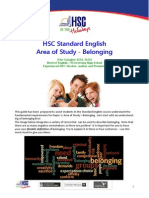 HSC Markers Report - Belonging