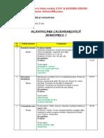 Planificare Calendaristica Clr Edp Cls2