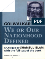 We or Our Nationhood Defined - Golwalkar's