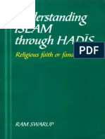 Understanding Islam Through Hadis Religious Faith or Fanatism - Ram Swarup
