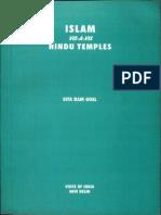 Islam Vis-A-Vis Hindu Temples - Sita Ram Goel