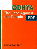 Ayodhya the Case Against the Temple - Koenraad Elst