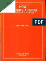 How I Became a Hindu - Sita Ram Goel