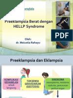 Preeklampsia Berat dengan HELLP Syndrome