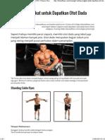 5 Latihan Singkat Untuk Dapatkan Otot Dada Keren _ NO.1 Fitness, Diet, And Health Portal _ DuniaFitnes.com