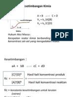 BAB III Kesetimbangan Reaksi kimia.ppt