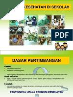 Promosi Kesehatan Sekolah