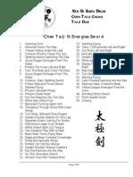Taijiquan (Tai Chi) - Chen - 13 Methods Sword (jian) 48 Forms List - English.pdf