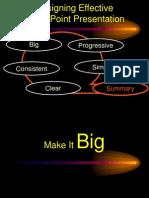 Designing Effective PowerPoint Presentation