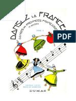 Dansez la France Danses des Provinces Françaises T1 Decitre.doc