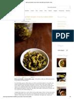 Bitter Gourd Pickle Recipe, How to Make Bitter Gourd Pickle Recipe