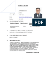Ahamed-Electrical CV-Al Jazera Format