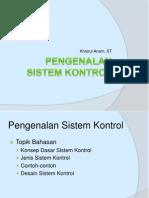 Bag 1 Pengenalan Sistem Kontrol