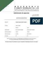 COA-SH9016-1 Sodium Humate Shiny Powder