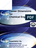 Dimensions ForChemical Engineers