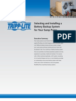 How to Select Inverter for Sump Pump White Paper
