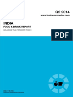 India Food & Drink 2014 Q2 Report