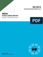 India Food & Drink 2014 Q2 Report