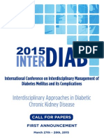 Interdiab Call For Papers