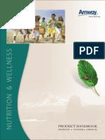 Nutrilite Product Handbook
