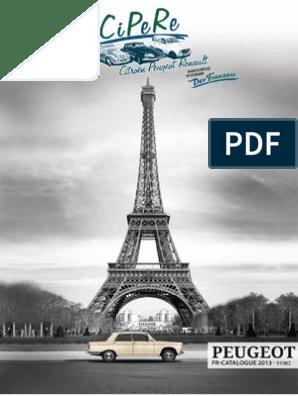 PEUGEOT J7 R14... CROCHET PIECE POUR NOREV 1//43 REF 07 GRIS FONCÉ