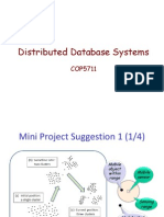 Distributed Db