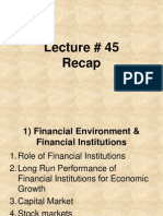 Management of Financial Institutions - BNK604 Power Point Slides Lecture 45