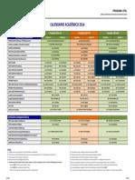 Calendario Academico CPEL 2014