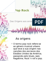 Pop Rock Origen Sano s 60